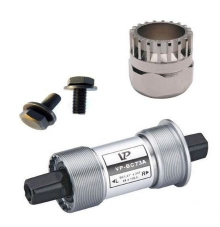 VP Sealed Bike Bottom Bracket Cartridge - Alloy Cups 68mm BC-73A + Shimano Tool